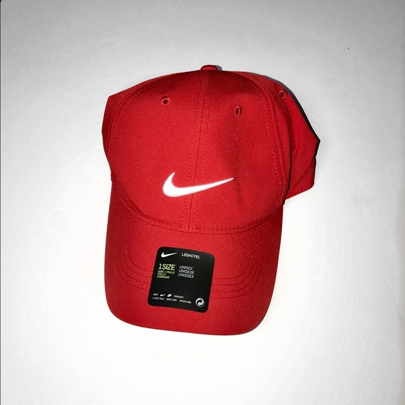 Nike Other - ALL RED NIKE DRIFIT DAD CAP 🎩🎩